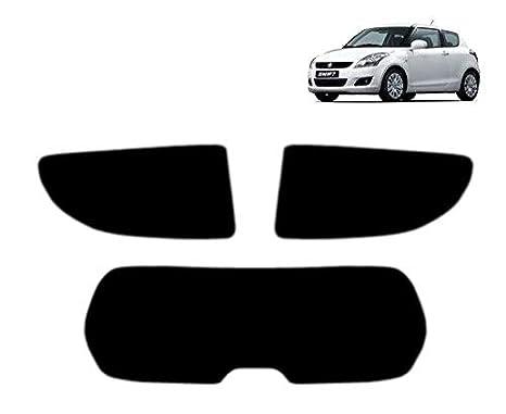 Teint/é pr/é-d/écoup/é pour fen/être Suzuki Swift 3 Portes Hatch 2011- Kit arri/ère 50/% Light Smoke