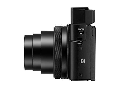 "Sony DSCRX100M6/B Optical Point & Shoot Digital Camera with 3"" OLED, Black"