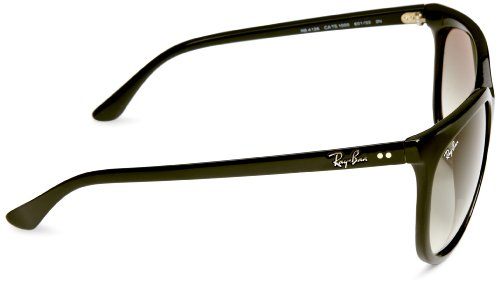 Noir 1000 Cats Ray Sonnenbrille black Gradient rb ban crystal 4126 Grey TY67xq