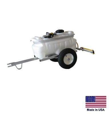Streamline Industrial SPRAYER Commercial & Farm - Trailer Mounted - 25 Gallon Tank - with 4 Ft Boom