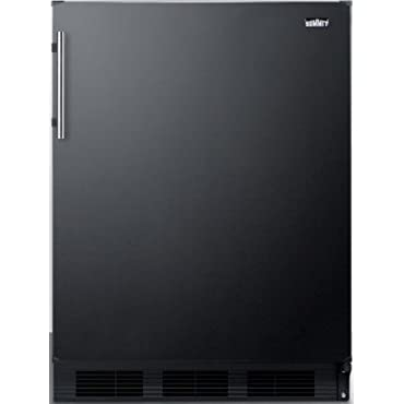 Summit FF63B 24 Refrigerator (Black)