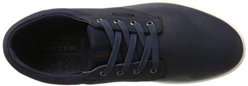 JONES para JACK Navy Jfwgaston amp; Zapatillas Navy Mix Blazer Hombre Azul PU Blazer 55q8xr