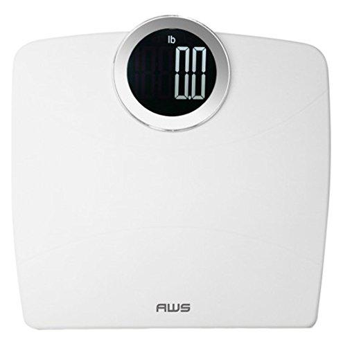 UPC 814859014183, American Weigh 396LUMA Digital Bathroom Scale 396lb x 0.2lb