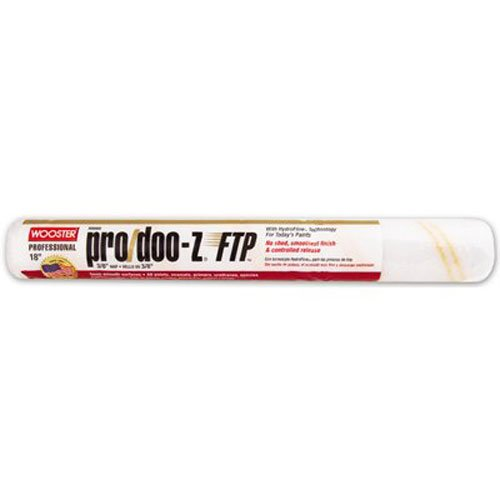 Wooster Brush RR666-18 Inch Pro Doo Z FTP Roller Cover, 3/8-Inch Nap by Wooster Brush