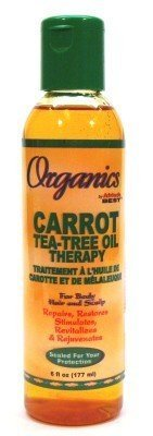Africa's Best Organincs Carrot Tea Tree Oil 6 oz. (3-Pack) with Free Nail File Review