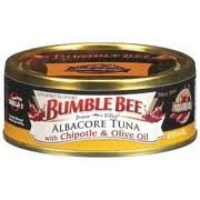 Bumble Bee Prime Fillet Albacore Tuna in Olive Oil 5oz Can (Pack of 6) (Chipotle) ()