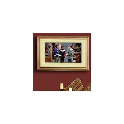 LCD Fashion Small Gold Universal TV Frame