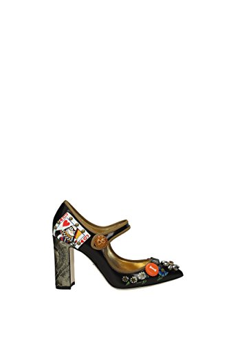 Dolce & Gabbana Pumps Damen - Leder (CD0936AM945) EU Mehrfarben