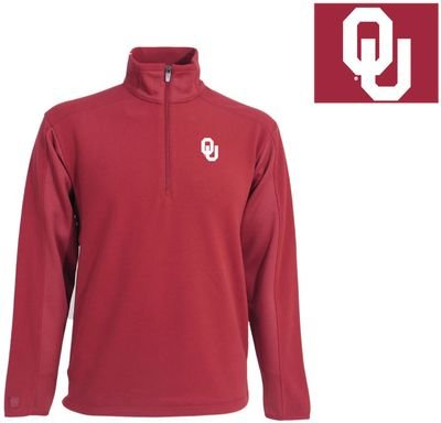 Antigua NCAA Men's Oklahoma Sooners Frost Polar Fleece (Cardinal, (Antigua Fleece)
