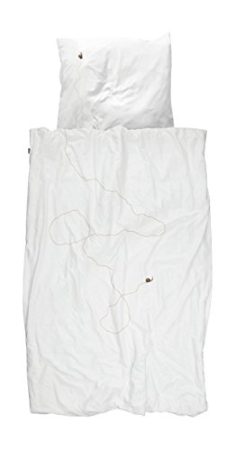 Snurk Snail Trail Duvet Cover and Pillowcase Set (Twin)