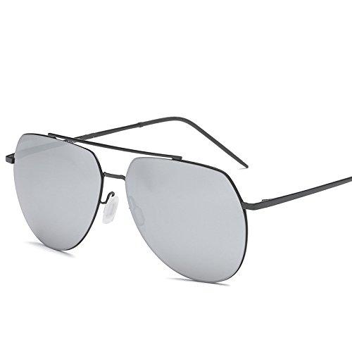 2018 nuevas gafas de sol polarizadas de los hombres gafas de sol de las mujeres espejo