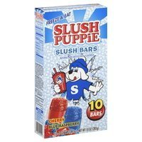 Slush Puppie Slush Bar Freezer Pop, 10 Bars by Sluzh Puppie