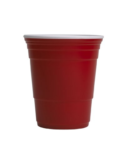 (Red Cup Living Reusable Beverage Cup, 18-Ounce,)
