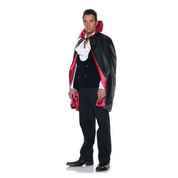 Underwraps Costumes  Men's Reversible Vampire Magician Cape - 44