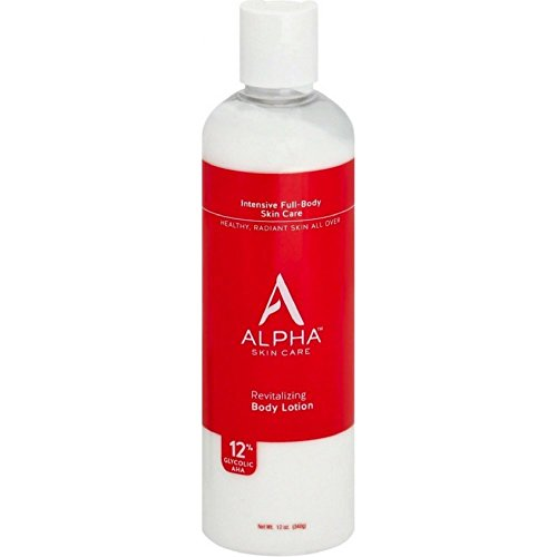Alpha Skin Care Revitalizing Body Lotion with 12% Glycolic A