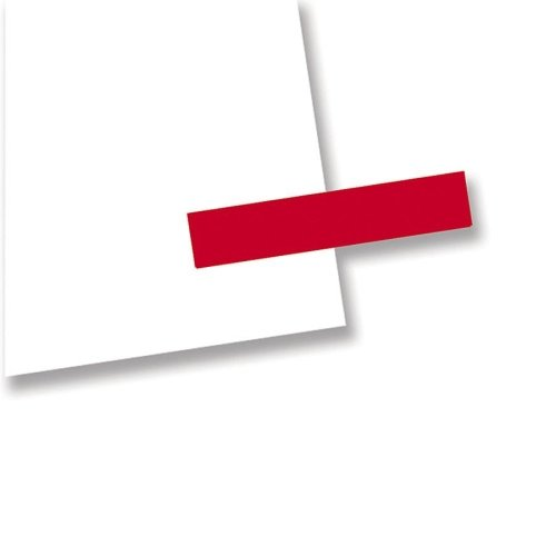 Redi-Tag Removable Message Tag - Removable, Self-adhesive - 0.19