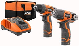 Ridgid 12-volt Hyper Lithium-ion Drill/driver and Impact Driver Combo Kit by Ridgid