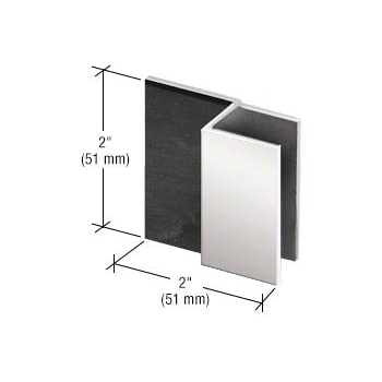 Crl Brushed Nickel Beveled Style Frameless Shower Door Stop