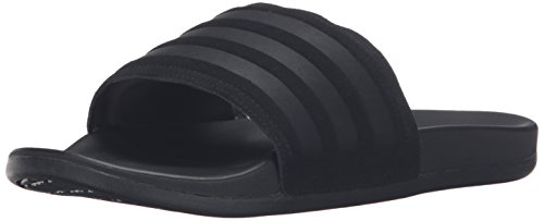 Adidas Black Slides (adidas Men's Adilette CF+ Explorer Slide Sandals, Black/Black/Black, (9 M US))
