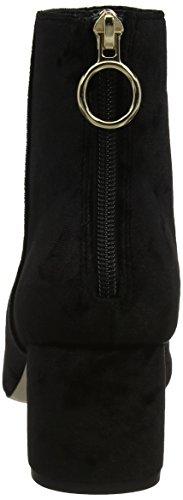 Office Women's Arch Enemy Boots Black (Black Crushed Velvet) tNEr6zx6