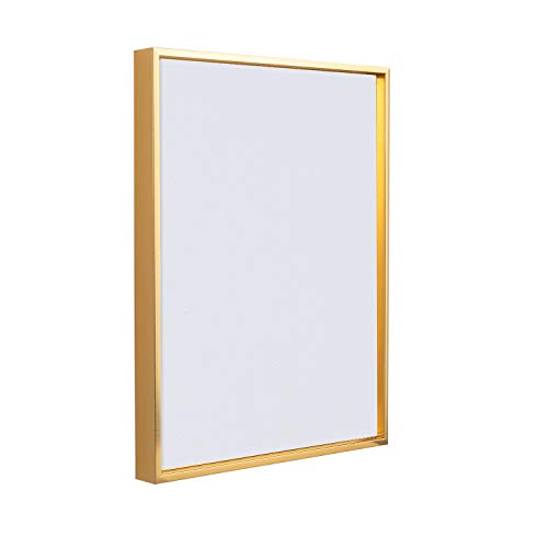 Combo Pack: Floater Frame + 30x40 Stretched Canvas for Painting 1-3/8