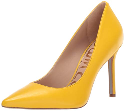 Sam Edelman Women's Hazel Shoe, Lemon Zest Leather, 11 M US