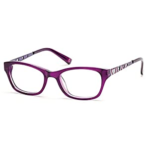 Skechers Eyeglasses Girls Junior 1601 Sk1601 Se1601 (PURPLE)