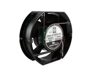 KNIGHT ELECTRONICS ORION FANS OA172SAP-22-1TB OA172 Series 3200 RPM 172 x 150 x 51 mm 235 CFM 230 V Dual Ball Bearing AC Fan - 1 ()