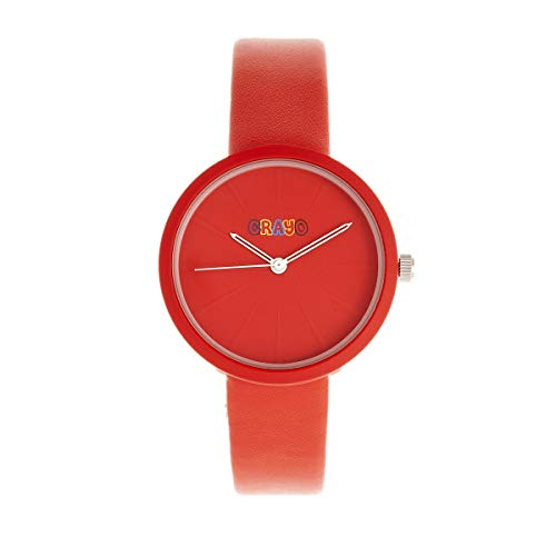 ed Leatherette Strap Unisex Watch CRACR5403 ()