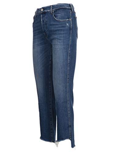 Bleu Femme 7 Coton All Jeans Sz2l540ze Mankind For tXCwpX