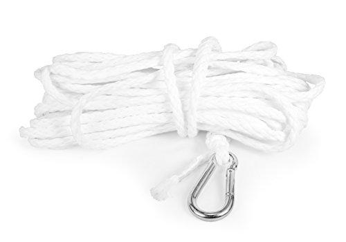 Camco 50066 Hollow Braid Polypropylene Rope, 3/8