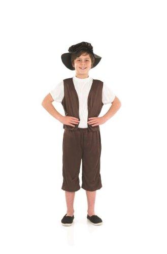 Tudor Boy Childs Fancy Dress Costume - M 50inch Height