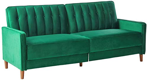 US Pride Furniture Grattan Luxury Sofa Bed Green
