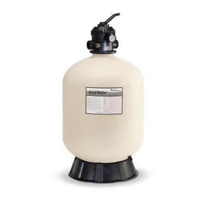 Pentair 145386 SD 80 Sand Dollar Filter 26-Inch with a 2-Inch Top Mount Valve by Pentair