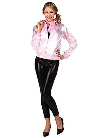 Amazon.com: Grease Plus Size Pink Ladies Jacket: Clothing
