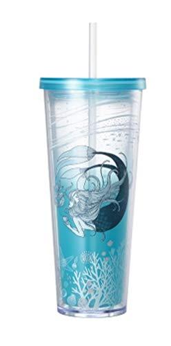 해외 한정 스타벅스 애니버서리 싸이렌 콜드 컵 텀블러 스타벅스 Starbucks anniversary Siren Cold Cup Tumbler 710ml   (Anniversary)