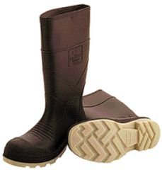 Tingley Rubber 51144 15-Inch Cleated Knee Boot, Size 9, Brown