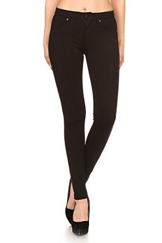 Back Zip Leggings - 5