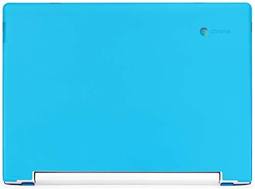 """mCover Hard Shell Case for Late-2018 11.6"""" Lenovo C330 Series Chromebook Laptop (NOT Fitting Lenovo N21 N22 N23 N24 100E 300E 500E Flex 11 Yoga 11e Chromebook) (LEN-C330 Aqua)"""