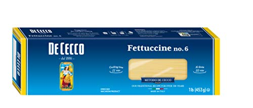DeCecco Fettucine #6, 16 oz