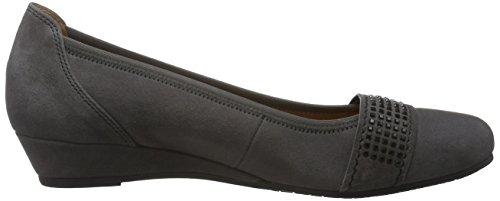 Gabor Shoes Comfort Sport, Zapatos de Tacón para Mujer Gris (dark-greyschwarz)