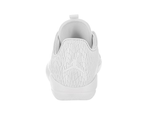 Jordan Nike Kids Eclipse Prem HC GG Basketball Shoe White/White Pure Platinum