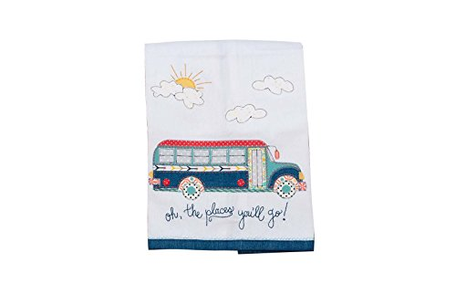 Glory Haus 7090521 Oh, the Places You'Ll Go Tea Towel, Multicolor by Glory Haus