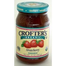 Crofters Conserve Strawberry Org
