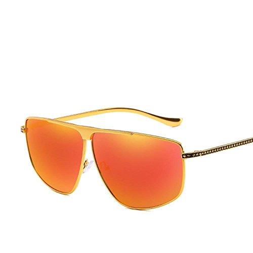 del decorativo sol aire F sol espejo de gafas hombres de metal remache libre Aoligei de gafas al Hombres piernas polarizados piloto W0q1UC