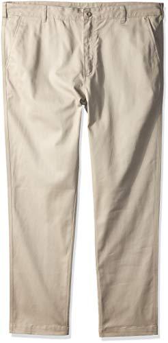 (Nautica Men's Young School Uniform Wrinkle Resistant Stretch Pant, Khaki 28W X 32L)