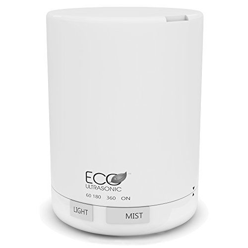 Eco Ultrasonic Essential Oil Diffuser Electric, 300 Milliliter Air Purifier for a Replenishing Sleep