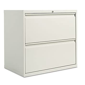 Superb Alera LF3029LG Two Drawer Lateral File Cabinet, 30w X 19 1/4d