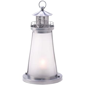 Gifts & Decor Lookout Lighthouse Figural Votive Candleholder Lamp