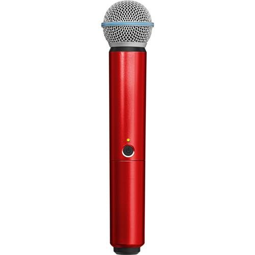 Shure WA713-RED Colored Handle Only for BLX2/SM58 and BLX2/BETA58A Wireless Transmitters (Red) (Shure Red Microphone)